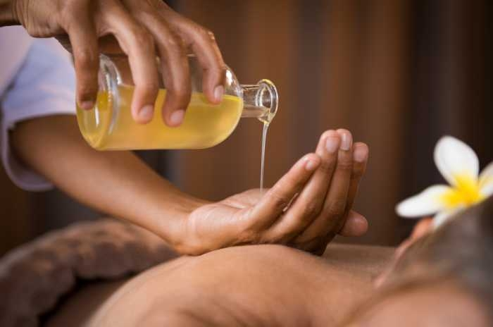 Oil Massage - Post Covid Treatment in Kerala