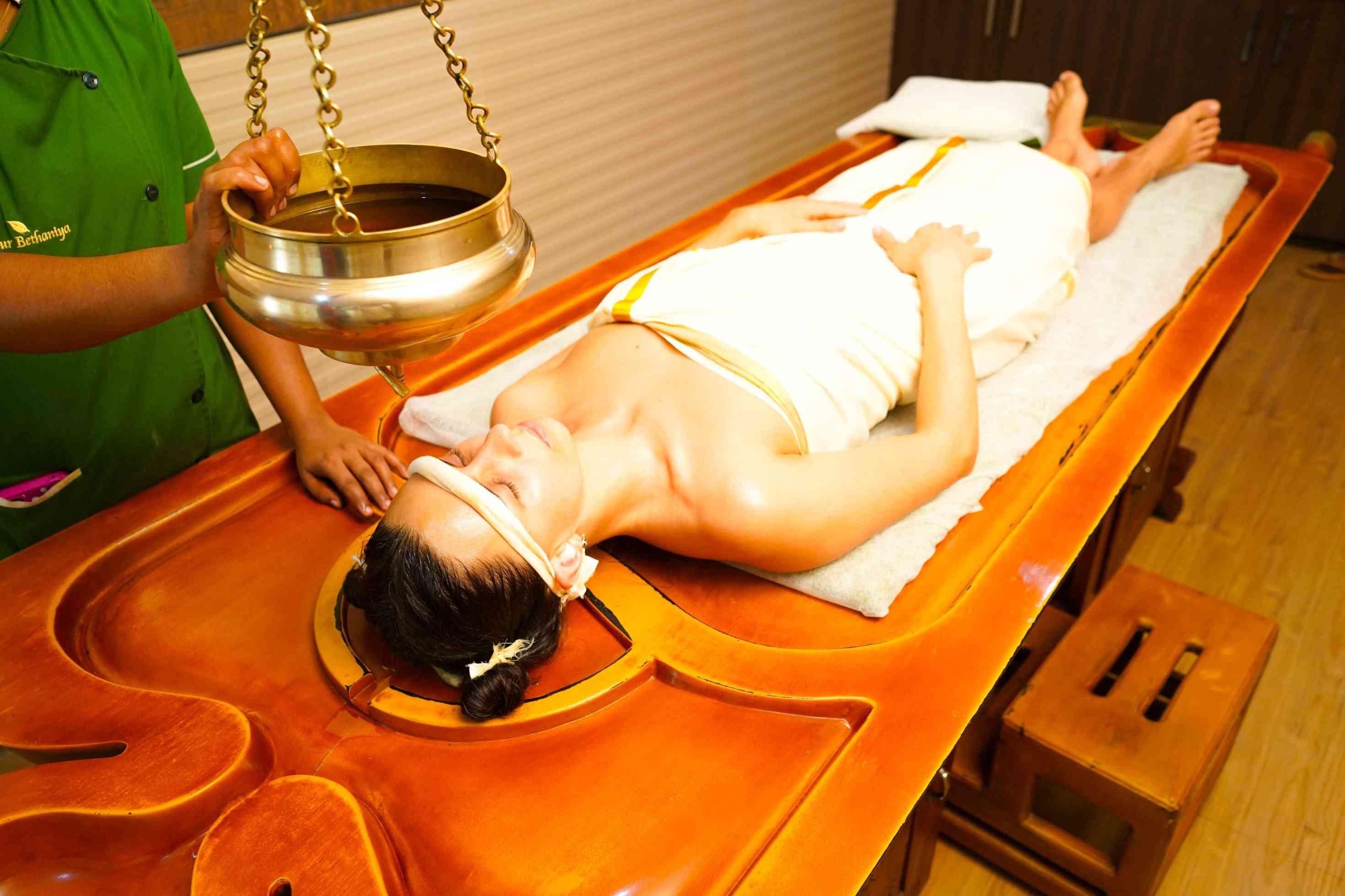 Shirodhara - Post COVID Treatment in Kerala